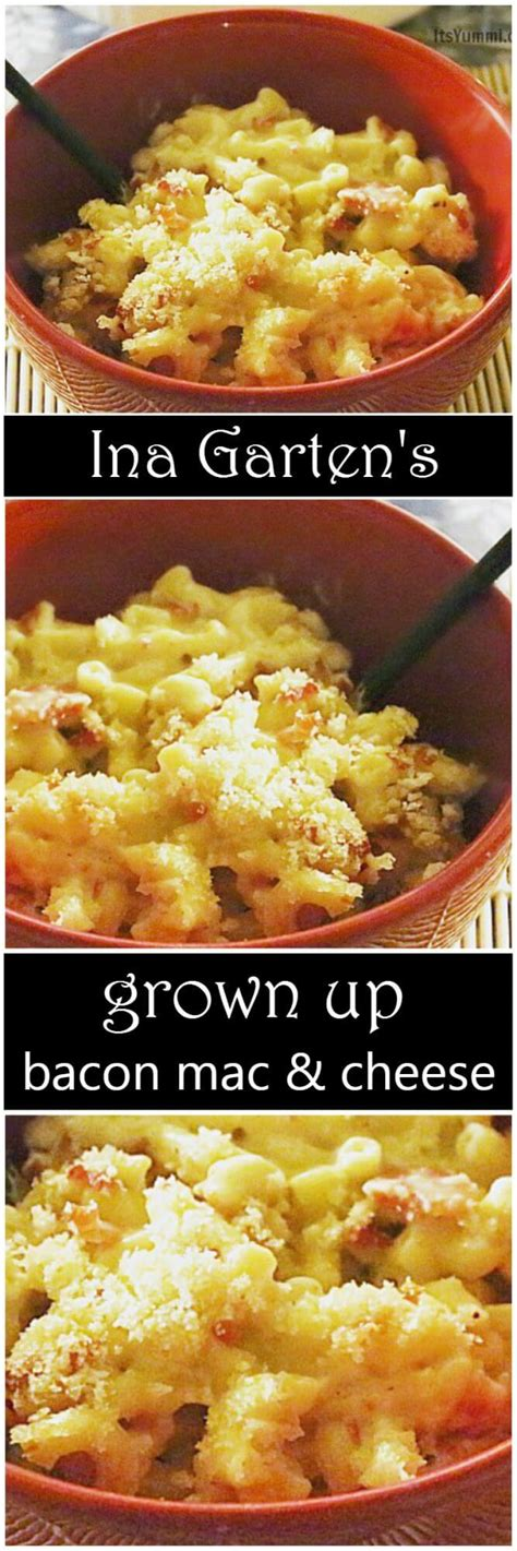 ina garten macaroni and cheese ina garten s grown up bacon mac and cheese its yummi