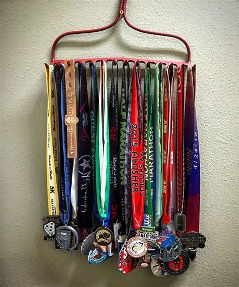 17 best ideas about race medal displays on