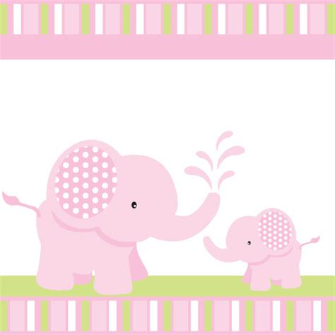 Elephant Baby Shower by Pink Elephant Baby Shower Or Birthday Custom By Blackleafdesign