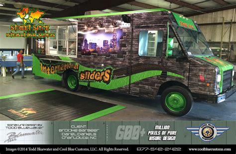 food truck design project food truck signature designs custom builder cool blue