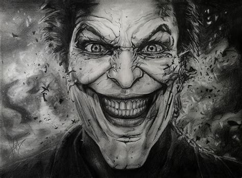 How To Draw A Gangster Joker