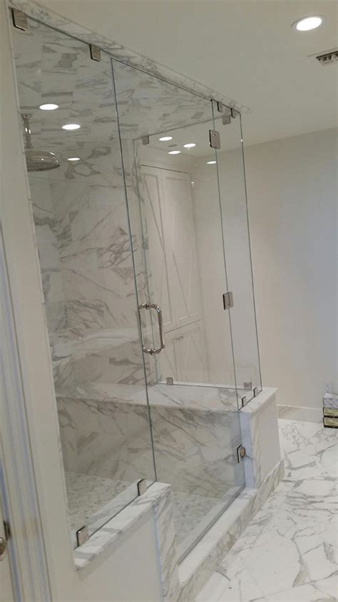 Frameless Corner Shower Doors Frameless Shower Doors Custom Glass Shower Doors Atlanta Ga
