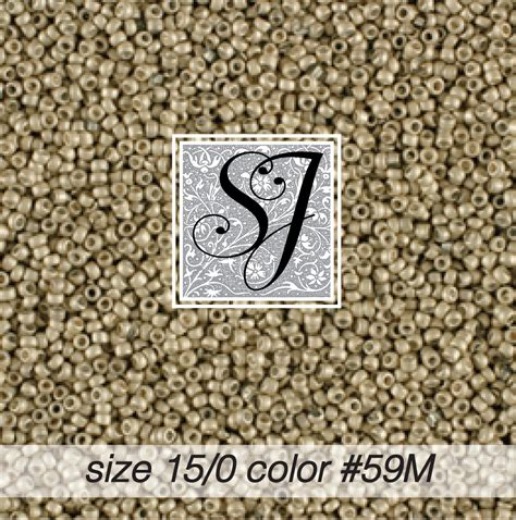 size 15 seed size 15 0 seed color 59m silver matte 1859m sj