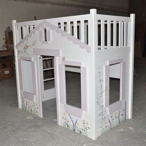 cottage bunk beds bunk bed custom designed and built by tanglewood
