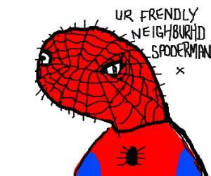 Spoderman Memes - one of those spoderman meme things drawing by foxinthebox