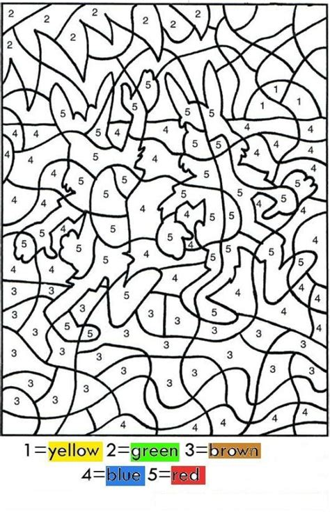 dibujos de navidad para colorear por numeros colorear por numeros en ingles dibujo para pintar por