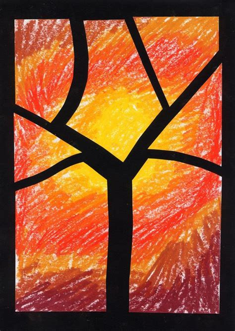 Peinture Pour Plastique 2036 by Id 233 E Arbre Automne On Peut L Adapter Pour L Hiver Arts