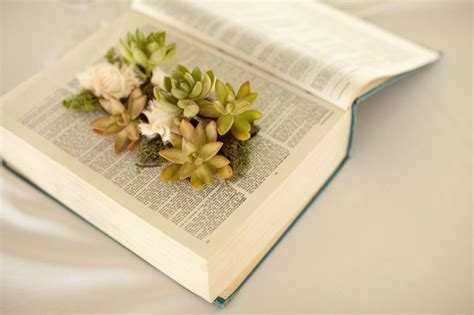 Diy Book Planter by Diy Book Planter With Succulents Green Wedding Shoes