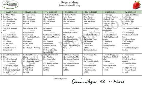 nursing home menu planning menu planning nursing home home plan