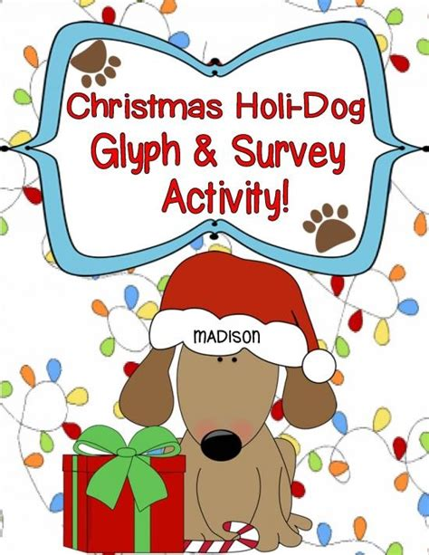 free christmas glyphs for fourth grade holi freebie glyph survey activities product from engaging lessons on