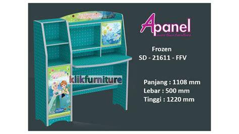 Meja Belajar Partikel sd 21611 ffv frozen apanel meja belajar agen furniture termurah
