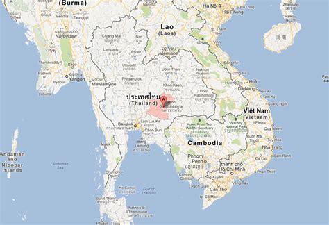 korat thailand nakhon ratchasima map and nakhon ratchasima satellite image