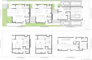 small modern courtyard house plans cottage house plans