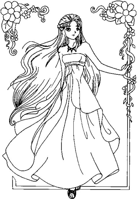 Beautiful Princess Coloring Pages here is a beautiful princess to color in get your crayons and get the paper ready in the