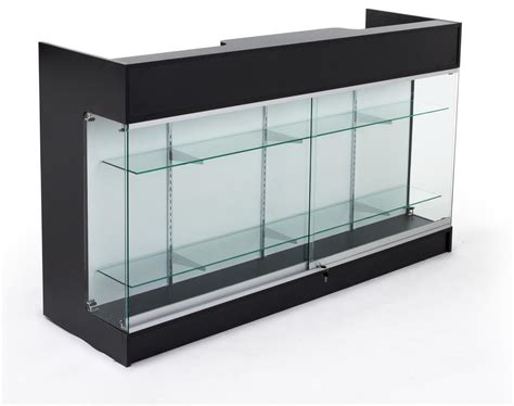 glass front storage cabinet retail store counters front glass cabinet for storage