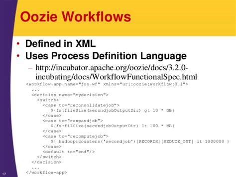 oozie workflow xml hadoop tutorial oozie