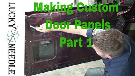 automotive upholstery making custom door panels part