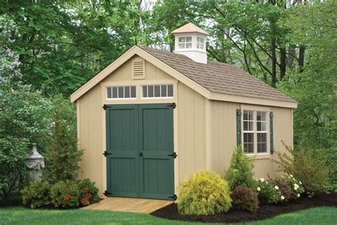 Shed In Backyard by Grandewood Classics Storage Sheds Backyard Beyond