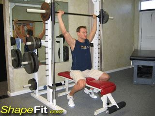 smith machine bench press conversion smith machine behind the head deltoid press exercise guide