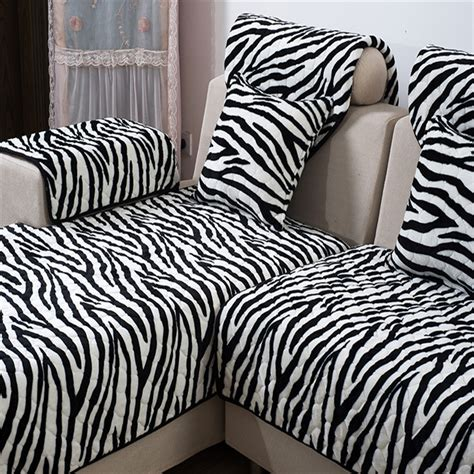 zebra couches zebra print sofa covers printed sofa slipcovers foter