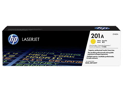 Toner 201 A Color Original hp 201a yellow original laserjet toner cartridge cf402a