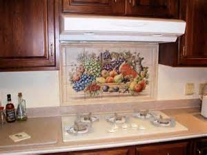 Tile Mural Kitchen Backsplash - quot don s cornucopia quot kitchen backsplash tile mural