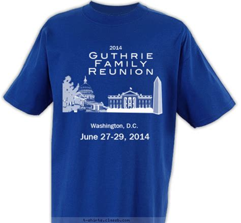 custom  shirt design  wood family reunion washington dc