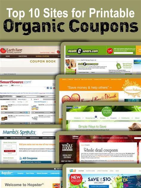 Printable Grocery Coupons For Organic Foods | printable organic food coupons