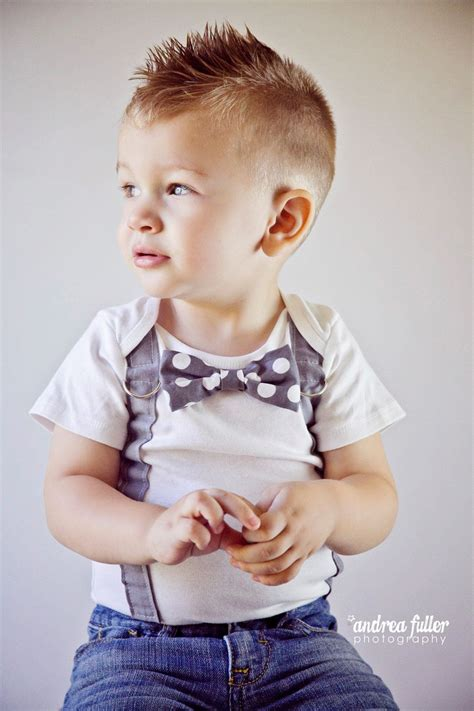 stylish toddler boy haircuts trendy short faux hawk hairstyle for toddler boys hair