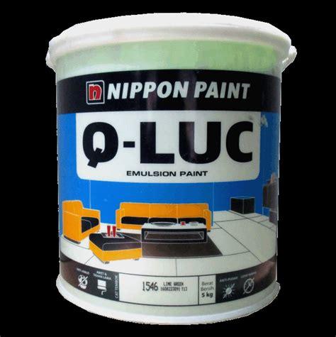 Merk Cat Tembok Q Luc jual cat tembok q luc nippon paint 5 kg warna lengkap