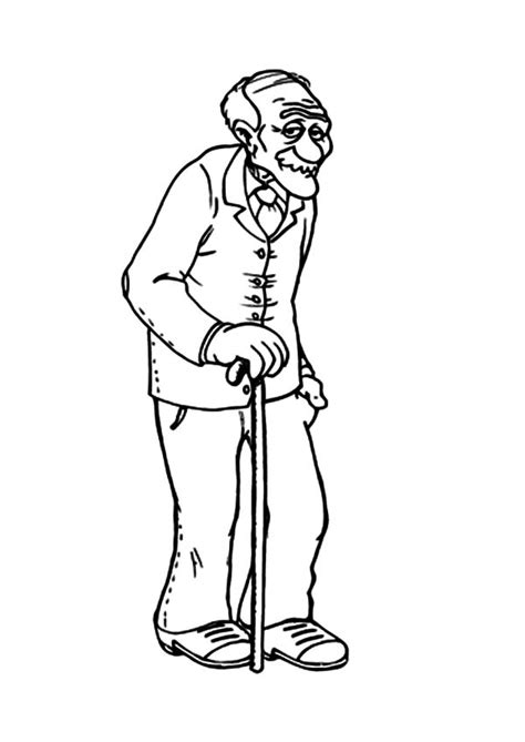 Grandfather Coloring Pages Grandfather Coloring Pages