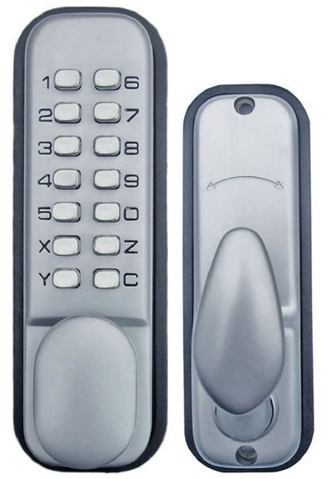 All Weather Mechanical Keyless Door Lock - all weather keypad mechanical keyless door lock by