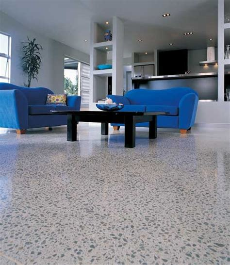 usage of concrete floor concretech one