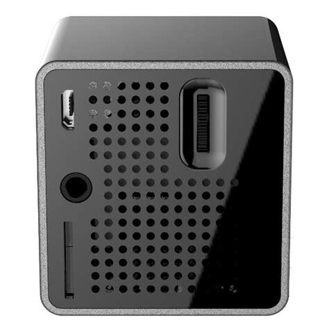 Proyektor Mini Wifi unic p1 wifi dlp proyektor mini 640p 30 lumens black