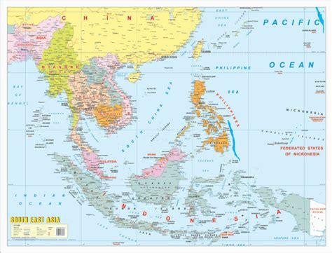 maps globe specialist distributor sdn bhd الخريطة السياسية جنوب شرق آسيا الخريطة معرف المنتج