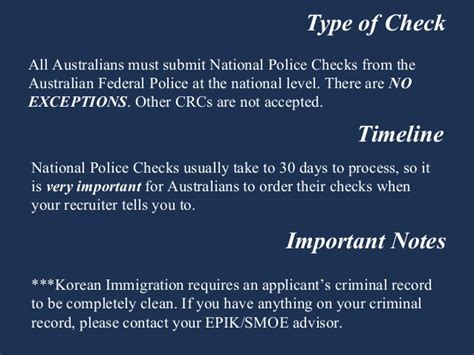 National Level Criminal Record Check Australia Criminal Record Check Teaching In South Korea