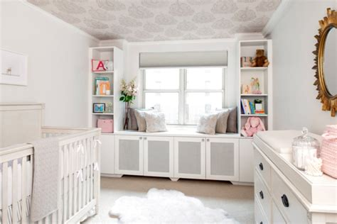 Chip And Joanna Gaines Farmhouse Tour cozy and pretty all white baby nursery design kidsomania