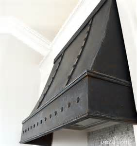 What Is The Average Cost Of Kitchen Cabinets builder grade to bronze beauty diy bronze range hood the