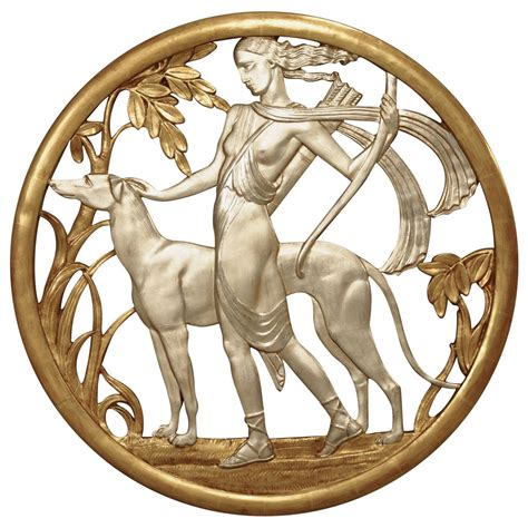 deco bilder important deco mythological gilt wall plaque for sale