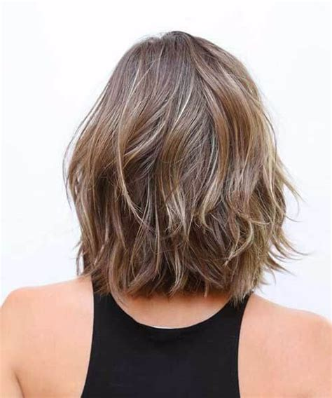 medium length textured bob 50 delightful shoulder length bob ideas my new hairstyles