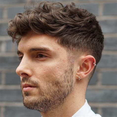 statement hairstyles  men  thick hair