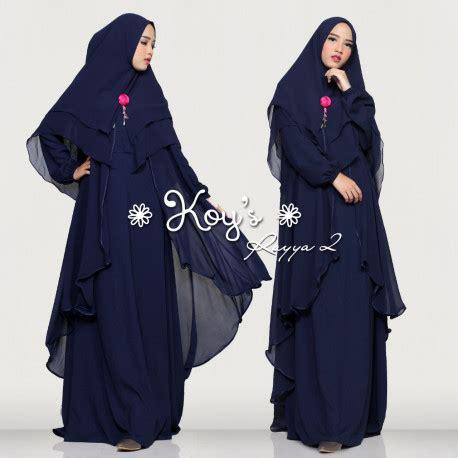 Pusat Grosir Baju Muslim Maryam Syari Jaguard 3 gamis syari modern cantik rayya syari 2 by koy s pusat grosir baju muslim