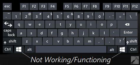 my keyboard layout won t work fix keyboard windows key not working in windows