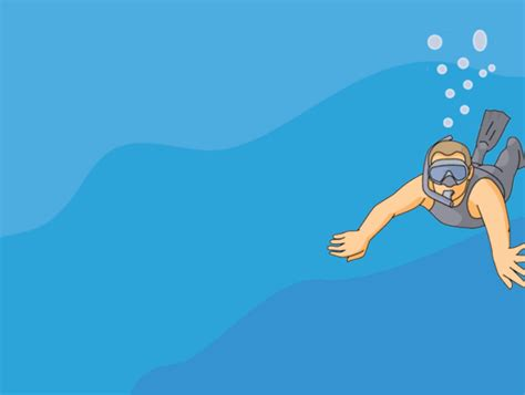 animated images sports animated clipart snorkeling animation 5