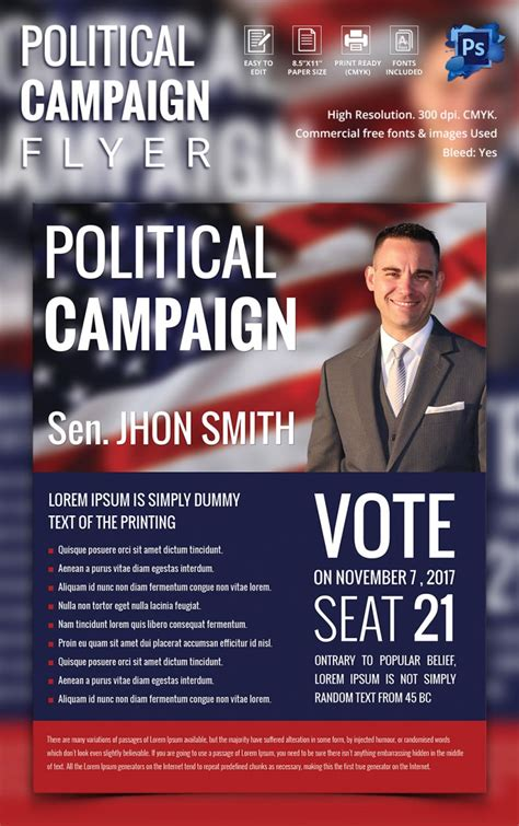 election flyer templates free election flyer template professional high quality