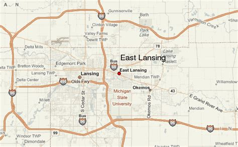 east lansing location guide