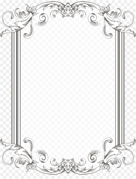 Wedding Border And Frames by Borders And Frames Picture Frames Clip Browse And