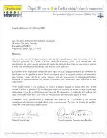 Exemple De Lettre De Remerciement Pour L Accueil D Un Stagiaire Lettre De Remerciement L Actuel Agavs