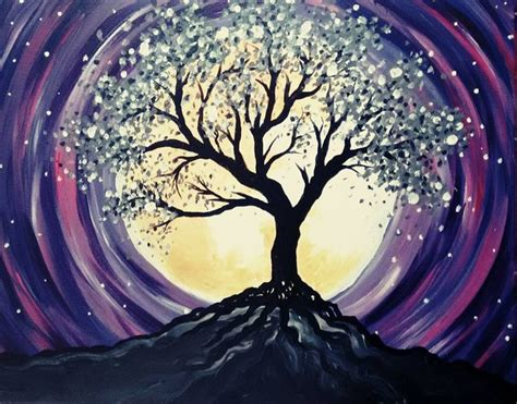 paint nite tree 1000 images about painting ideas on