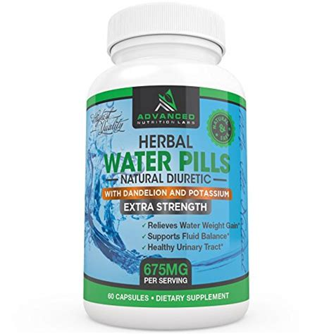 Diuretic Also Search For Herbal Diuretic Water Pills With Dandelion And Potassium For Relief From
